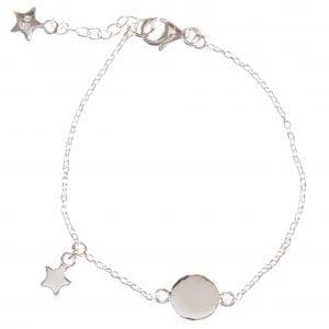 BETTY BOGAERS BRACELET BABY MUM B462 Silver Baby Star Bracelet