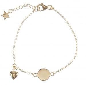 BETTY BOGAERS BRACELET BABY MUM B463 Gold Baby Heart Bracelet