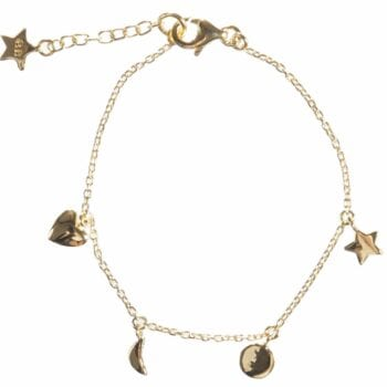 BETTY BOGAERS BRACELET BABY MUM B486 Gold Baby Little Charm Bracelet