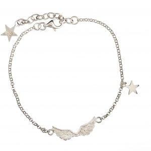 BETTY BOGAERS BRACELET WINGS B62 Silver Wings Bracelet