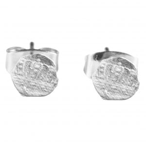 BETTY BOGAERS EARRING LITTLE THINGS E410 Silver Small Cent Stud Earring