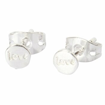 BETTY BOGAERS EARRING LITTLE THINGS E482 Silver Little Love Stud Earring
