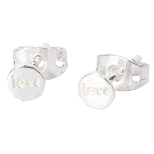 BETTY BOGAERS EARRING LITTLE THINGS E482 Silver Little Love Stud Earring