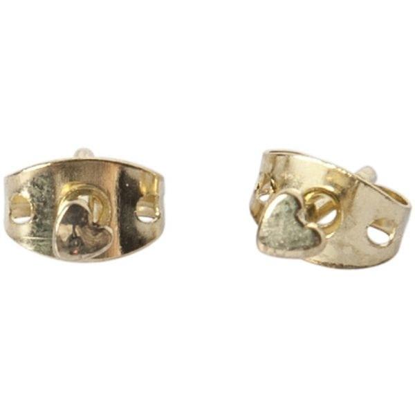 BETTY BOGAERS EARRING LITTLE THINGS E483 Gold Mini Heart Stud Earring