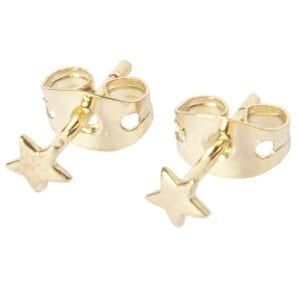BETTY BOGAERS EARRING LITTLE THINGS E484 Gold Mini Star Stud Earring