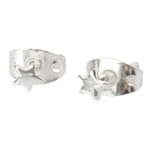 BETTY BOGAERS EARRING LITTLE THINGS E484 Silver Mini Star Stud Earring