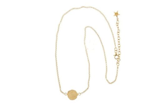 BETTY BOGAERS NECKLACE CENT N19 Gold Ten Cent Necklace