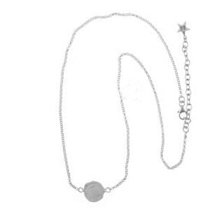 BETTY BOGAERS NECKLACE CENT N19 Silver Ten Cent Necklace
