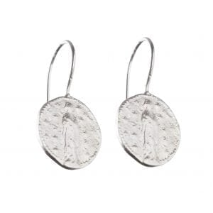 BETTY BOGAERS EARRING CENT E511 Silver Maria Coin Earring 39,95