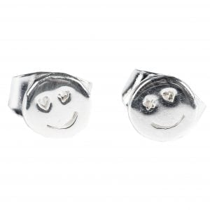 BETTY BOGAERS EARRING SMILEY E495 Silver Smiley Stud Earring 29,95