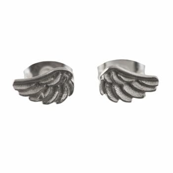 BETTY BOGAERS EARRING WINGS E539 Silver Wings Stud Earring 24,95