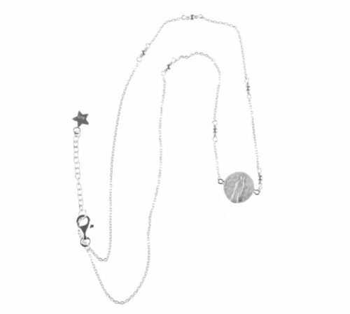 BETTY BOGAERS NECKLACE CENT N511 Silver Maria Coin Chain Necklace 79,95