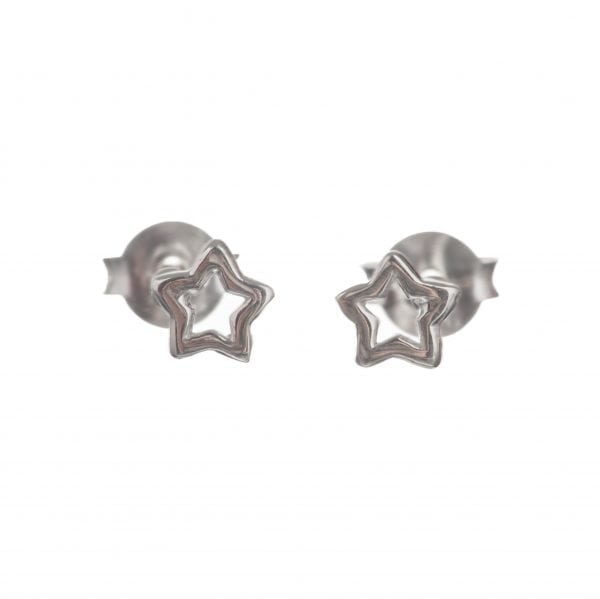 BETTY BOGAERS EARRING LITTLE THINGS E553 Silver Star Open Stud Earring 22,95
