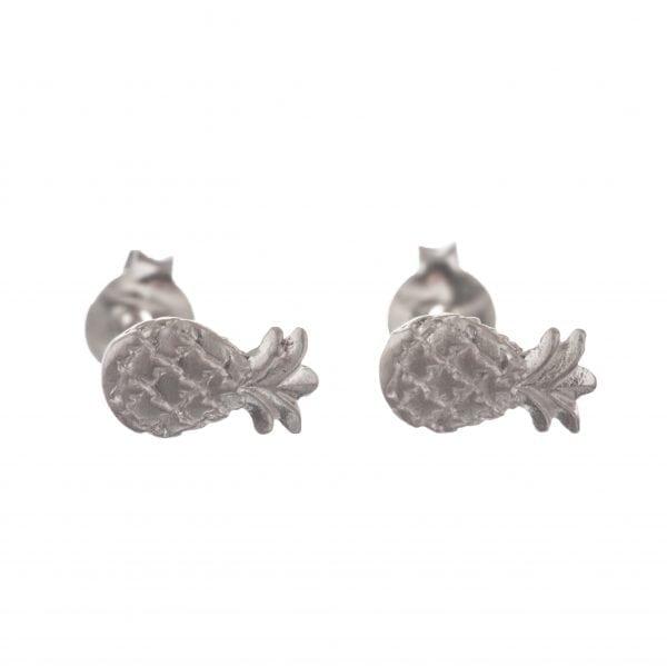 BETTY BOGAERS EARRING LITTLE THINGS E589 Silver Pinapple Stud Earring 24,95