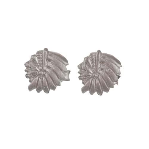 BETTY BOGAERS EARRING TIGER INDIAN E570 Silver Mini Indian Stud Earring 24,95