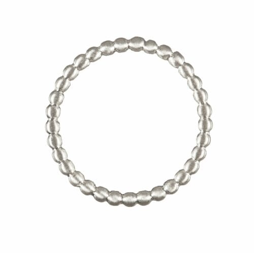 BETTY BOGAERS RING LITTLE THINGS R580 Silver Little Balls Ring SATIN 29,95