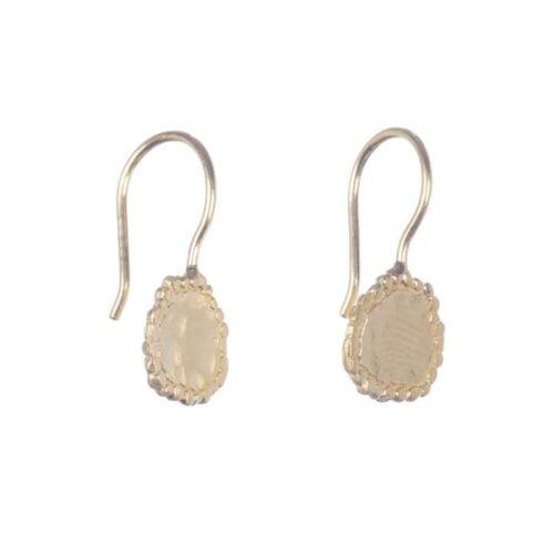 BETTY BOGAERS EARRING EGYPT E629 Gold Egypt Coin Hook Earring 39,95