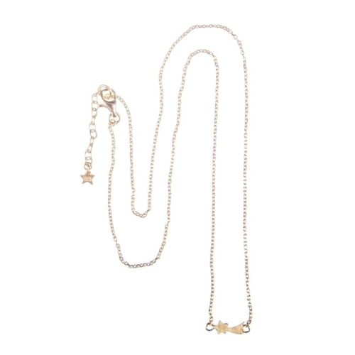 BETTY BOGAERS NECKLACE SKY N635 Gold Shooting Star Chain Necklace (39,5 cm) 79,95