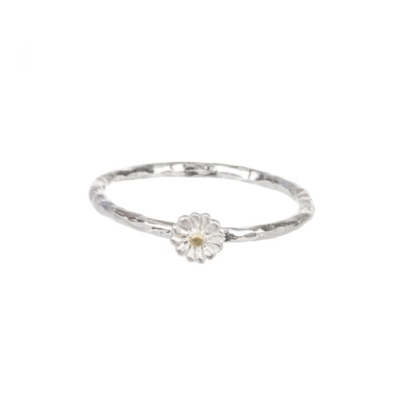 BETTY BOGAERS RING FLOWER R610 GS Mini Daisy Ring 34,95