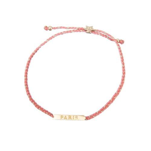 BETTY BOGAERS BRACELET HOLIDAY B644 Gold Paris Braided Rope Bracelet 49,95