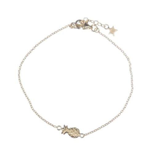 BETTY BOGAERS BRACELET HOLIDAY B646 Gold Little Pineapple Chain Bracelet 69,95
