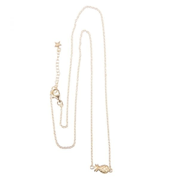 BETTY BOGAERS NECKLACE HOLIDAY N646 Gold Little Pineapple Chain Necklace (39,5 cm) 79,95