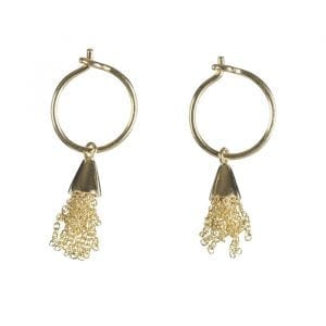 BETTY BOGAERS EARRING LITTLE THINGS E662 Gold Little Floss Earring 49,95