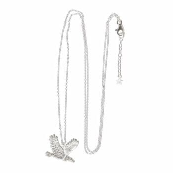BETTY BOGAERS NECKLACE WINGS E693 Silver Eagle Chain Necklace (60 cm) 89,95