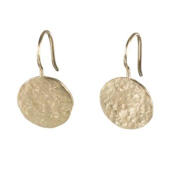 BETTY BOGAERS EARRING STAR E695 Gold Coin Star Earring 49,95