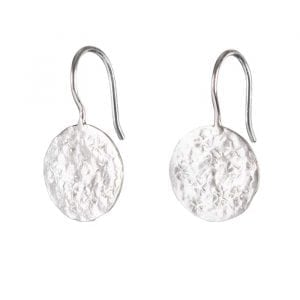 BETTY BOGAERS EARRING STAR E695 Silver Coin Star Earring 39,95
