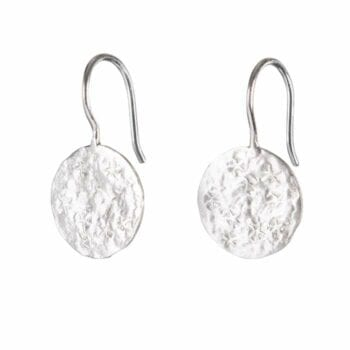 BETTY BOGAERS EARRING STAR E695 Silver Coin Star Earring 39,95