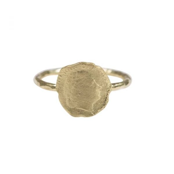BETTY BOGAERS RING COIN R661 Gold Ten Cent Ring 44,95