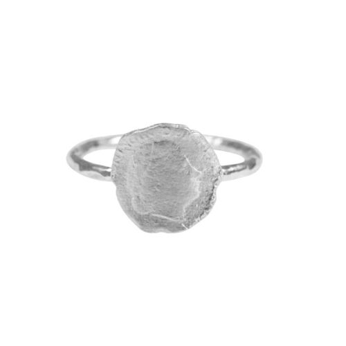 BETTY BOGAERS RING COIN R661 Silver Ten Cent Ring 34,95