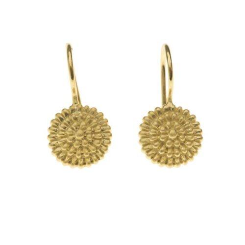 BETTY-BOGAERS-EARRING-LITTLE-BALLS-E743-Gold-Little-Balls-Hook-Earring