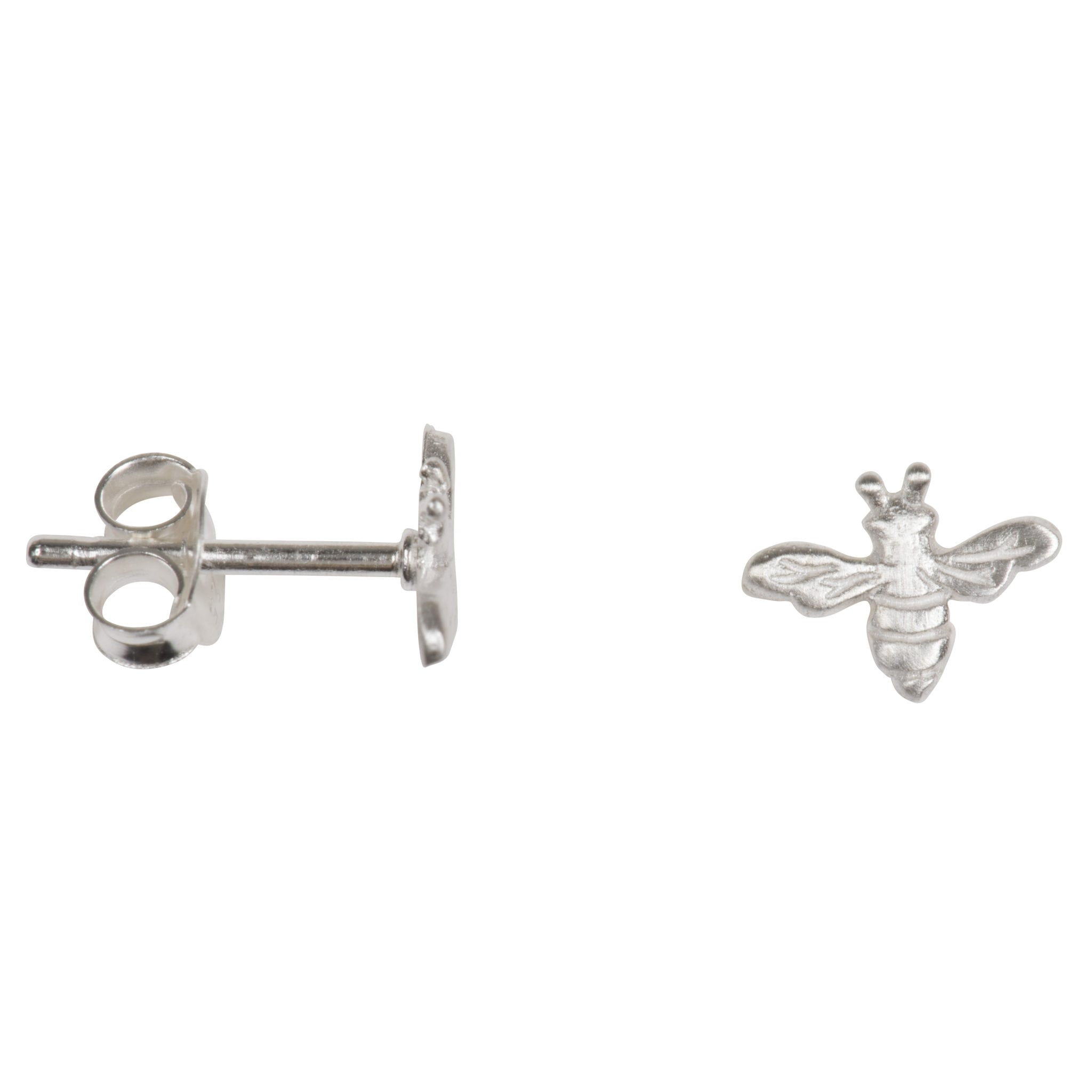 bee vermeil stud sterling gold reppin silver product earrings