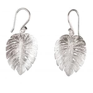 BETTY BOGAERS EARRING SUMMER E756 Silver Palm Leaf Hook Earring 59,95