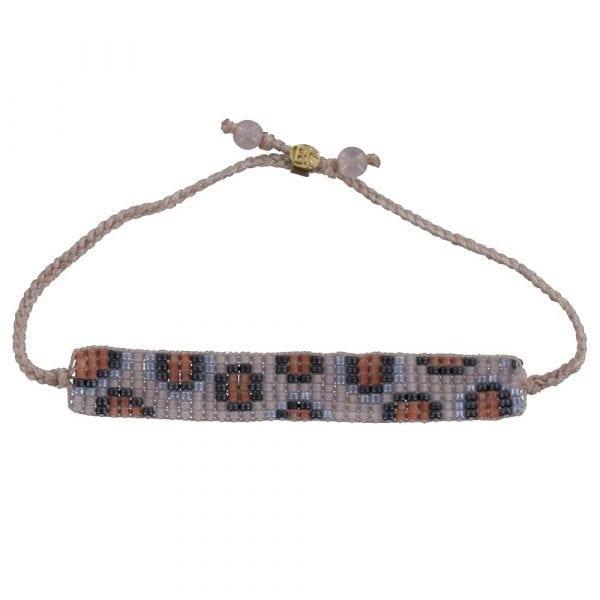 BC B807 Gold PINK-ORANGE Bibi Et Camie Leopard Beads Bracelet PINK-ORANGE 24,95 EURO