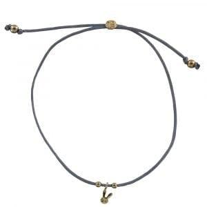 BC B810 Gold BLUE GREY Bibi Et Camie Happy Rabbit Rope Bracelet BLUE GREY 24,95 EURO