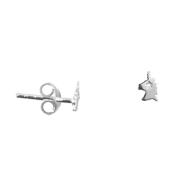 BC E803 Silver Bibi Et Camie Love for Unicorns Stud Earring 22,95 EURO