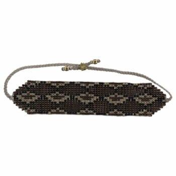 B801 Gold Brown REBELLION BRACELET Snake Beads Bracelet BROWN 34,95 euro