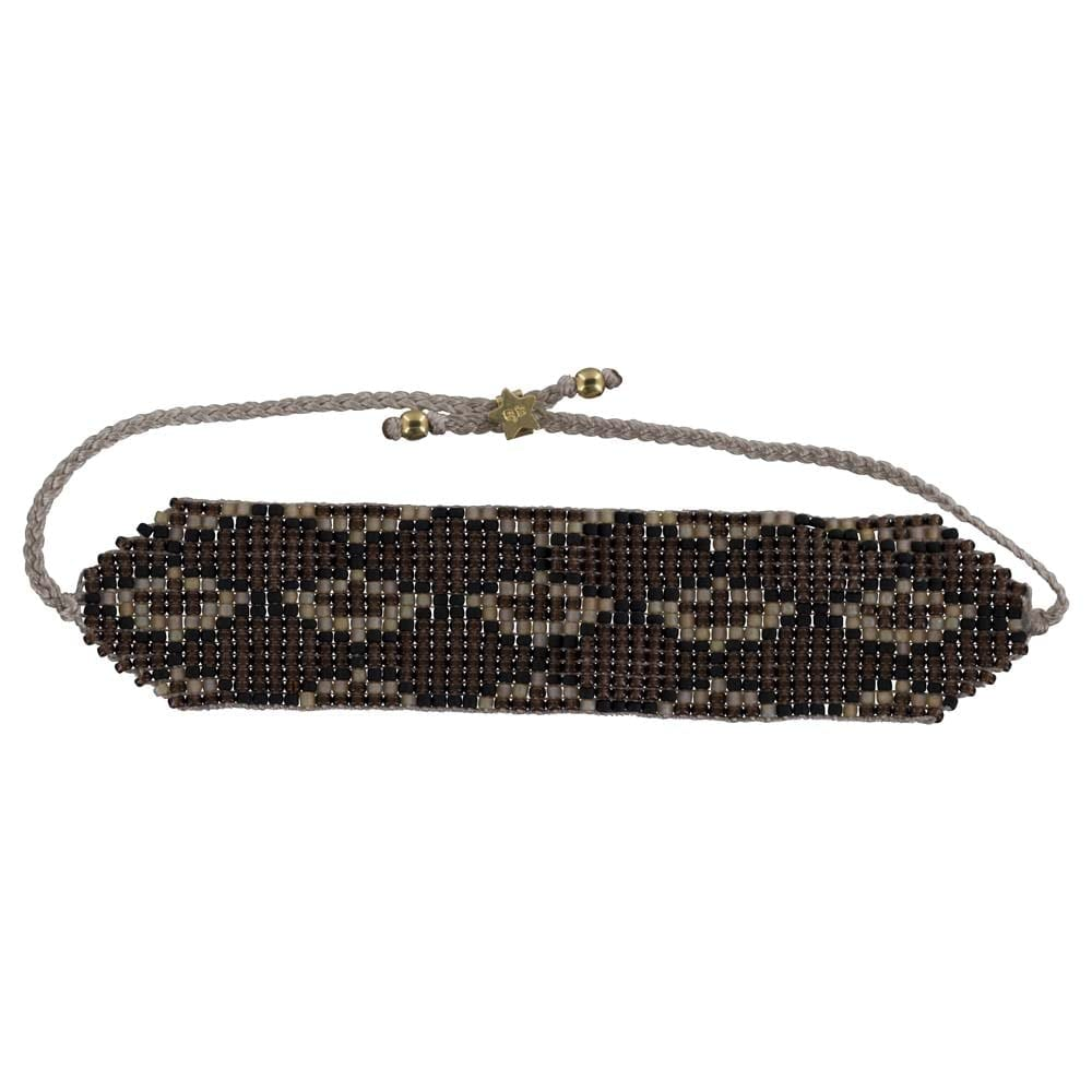 B801 Gold Brown REBELLION BRACELET Snake Beads Bracelet BROWN 34,95 euro