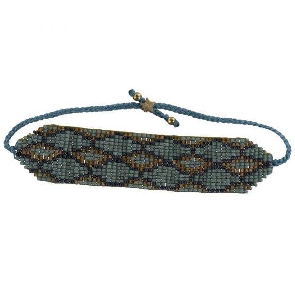 B801 Gold TURQUOISE REBELLION BRACELET Snake Beads Bracelet TURQUOISE 34,95 euro