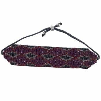 B801 Silver RED REBELLION BRACELET Snake Beads Bracelet RED 29,95 euro