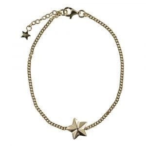 B810 Gold REBELLION BRACELET Star Cone Chain Bracelet 59,95 euro