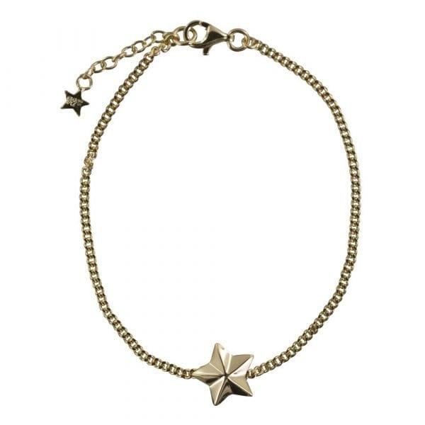 B810 Gold REBELLION BRACELET Star Cone Chain Bracelet 59,95 euro