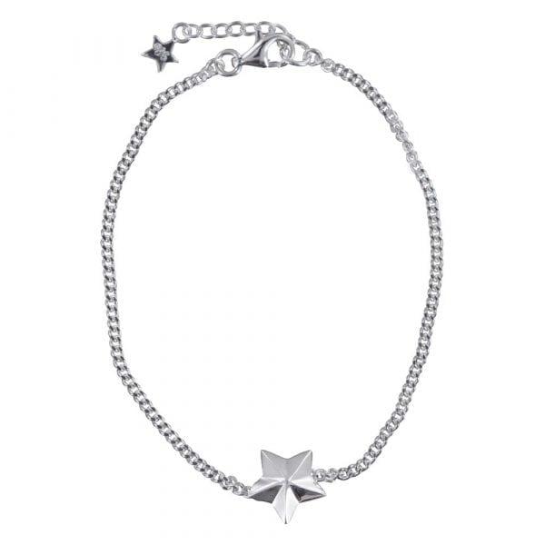 B810 Silver REBELLION BRACELET Star Cone Chain Bracelet 49,95 euro