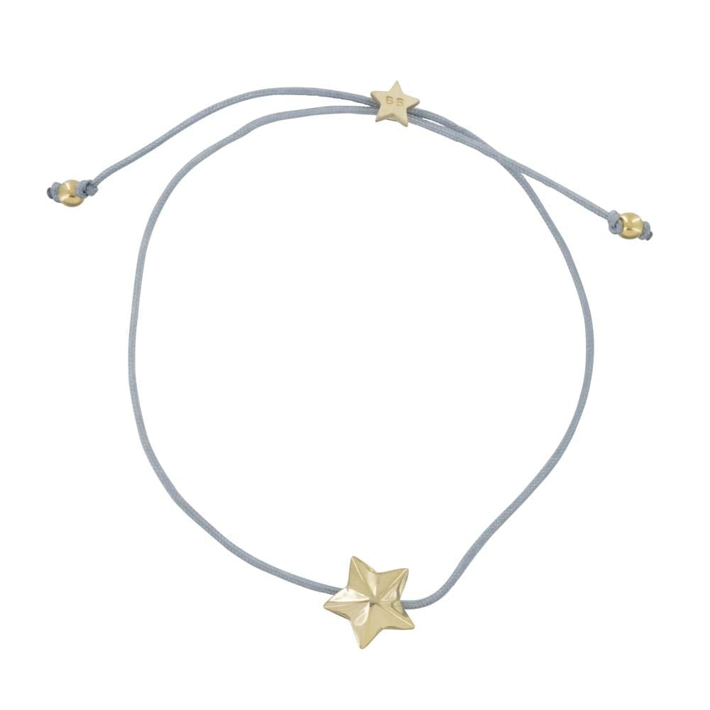 B810a Gold GREY REBELLION BRACELET Star Cone Rope Bracelet GREY 34,95 euro