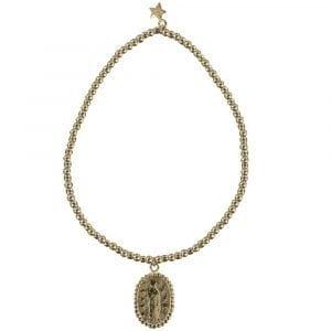 B839 Gold REBELLION BRACELET Maria Beads Bracelet 39,95 euro