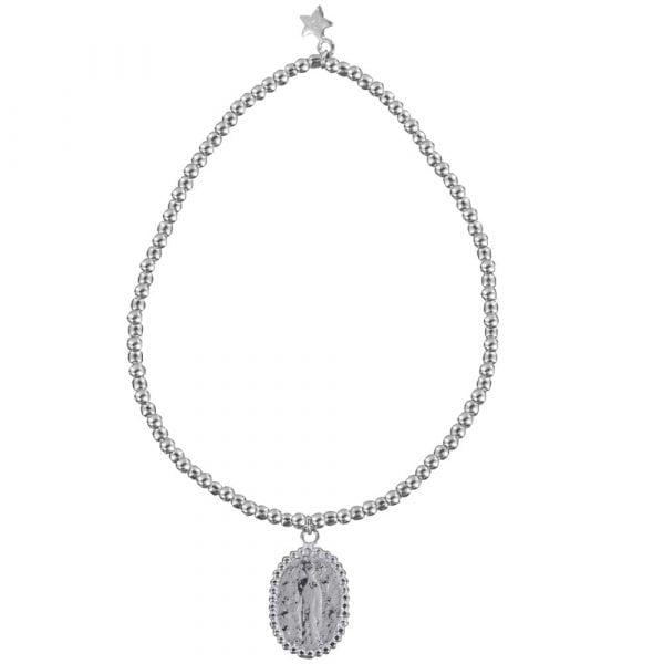 B839 Silver REBELLION BRACELET Maria Beads Bracelet 29,95 euro