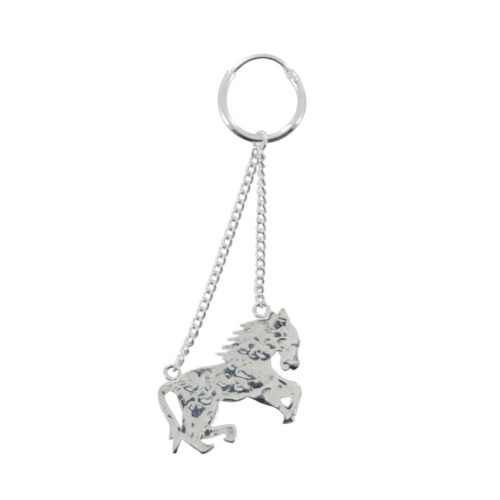 E803 Silver REBELLION EARRING Horse Earring (one piece) 24,95 euro